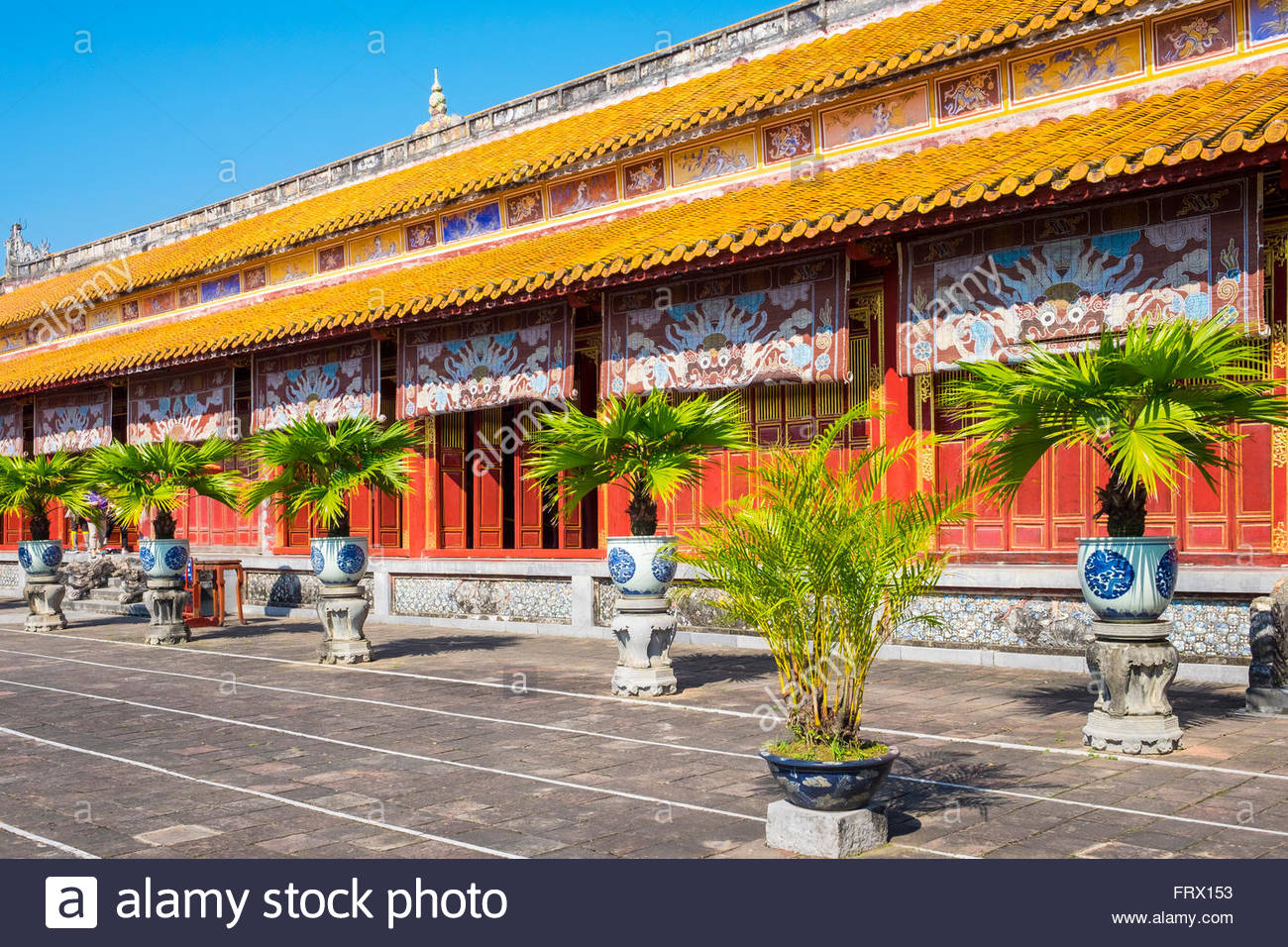 To Mieu Temple, Imperial City of Hue, Thua Thien-Hue Province, Vietnam - Stock Image
