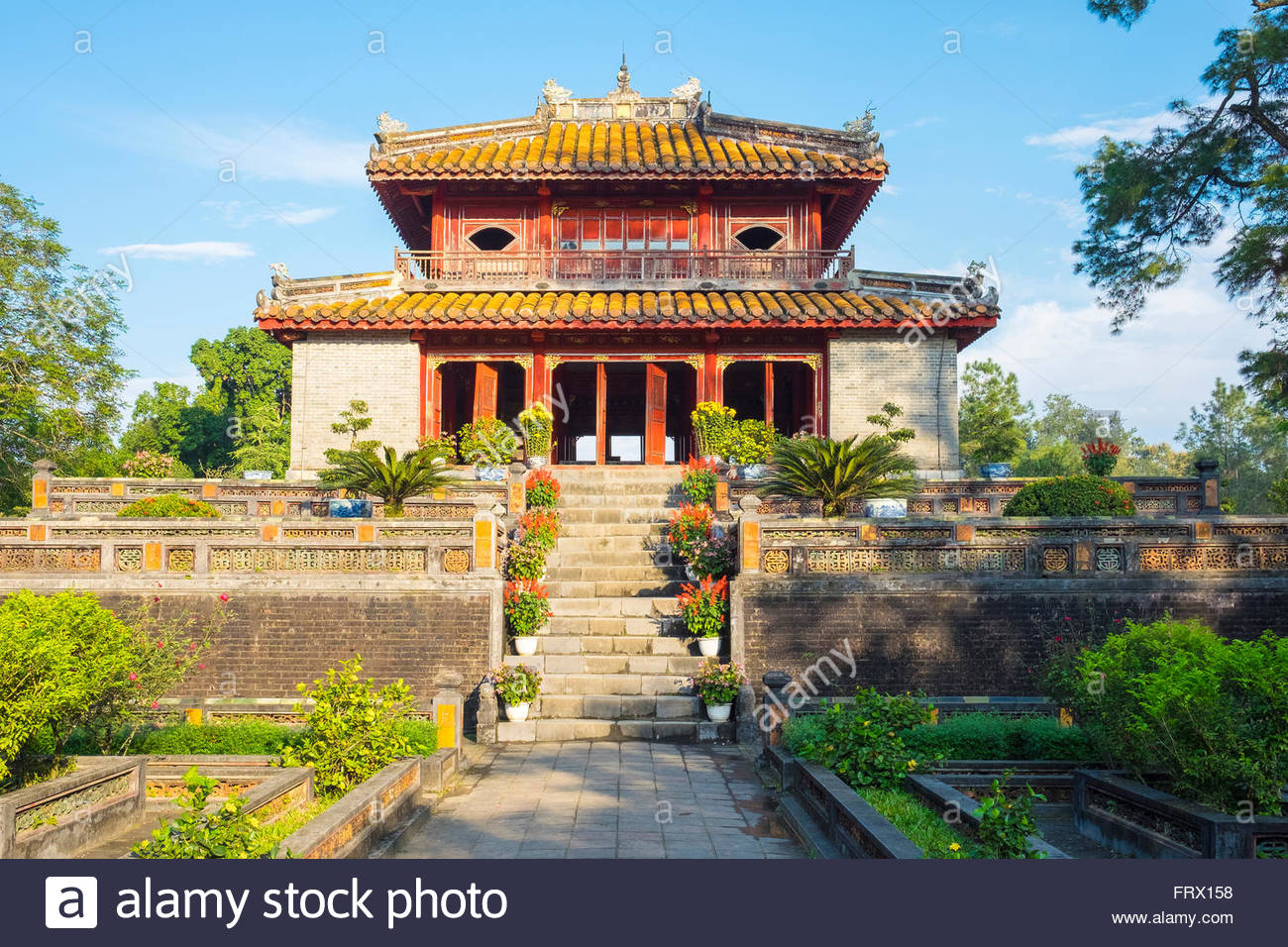 Tomb of Minh Mang (Lang Minh Mang), Huong Tra District, Thua Thien-Hue Province, Vietnam - Stock Image