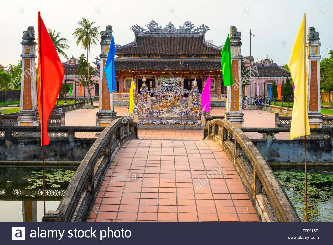 Confucian Temple, Hoi An, Quang Nam Province, Vietnam - Stock Image