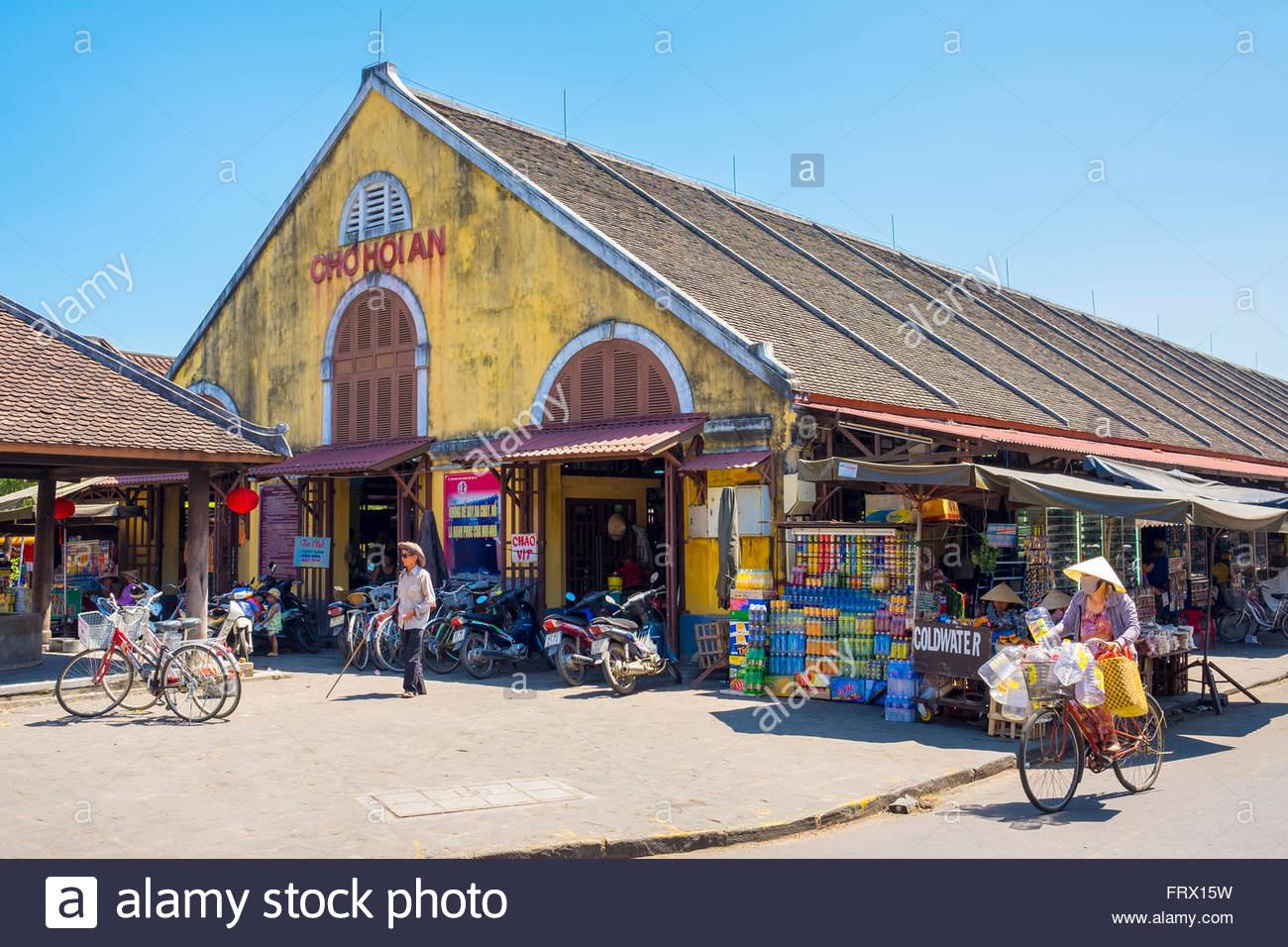 Hoi An central market (Cho Hoi An), Hoi An, Quang Nam Province, Vietnam - Stock Image