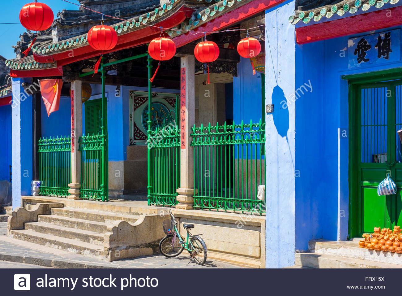 Trung Hoa Assembly Hall (Ngu Bang Assembly Hall), Hoi An, Quang Nam Province, Vietnam - Stock Image