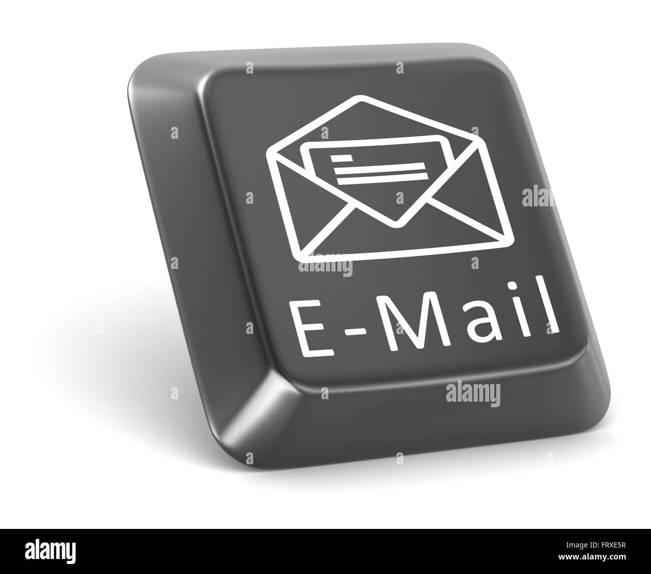 E-Mail Button - Stock Image