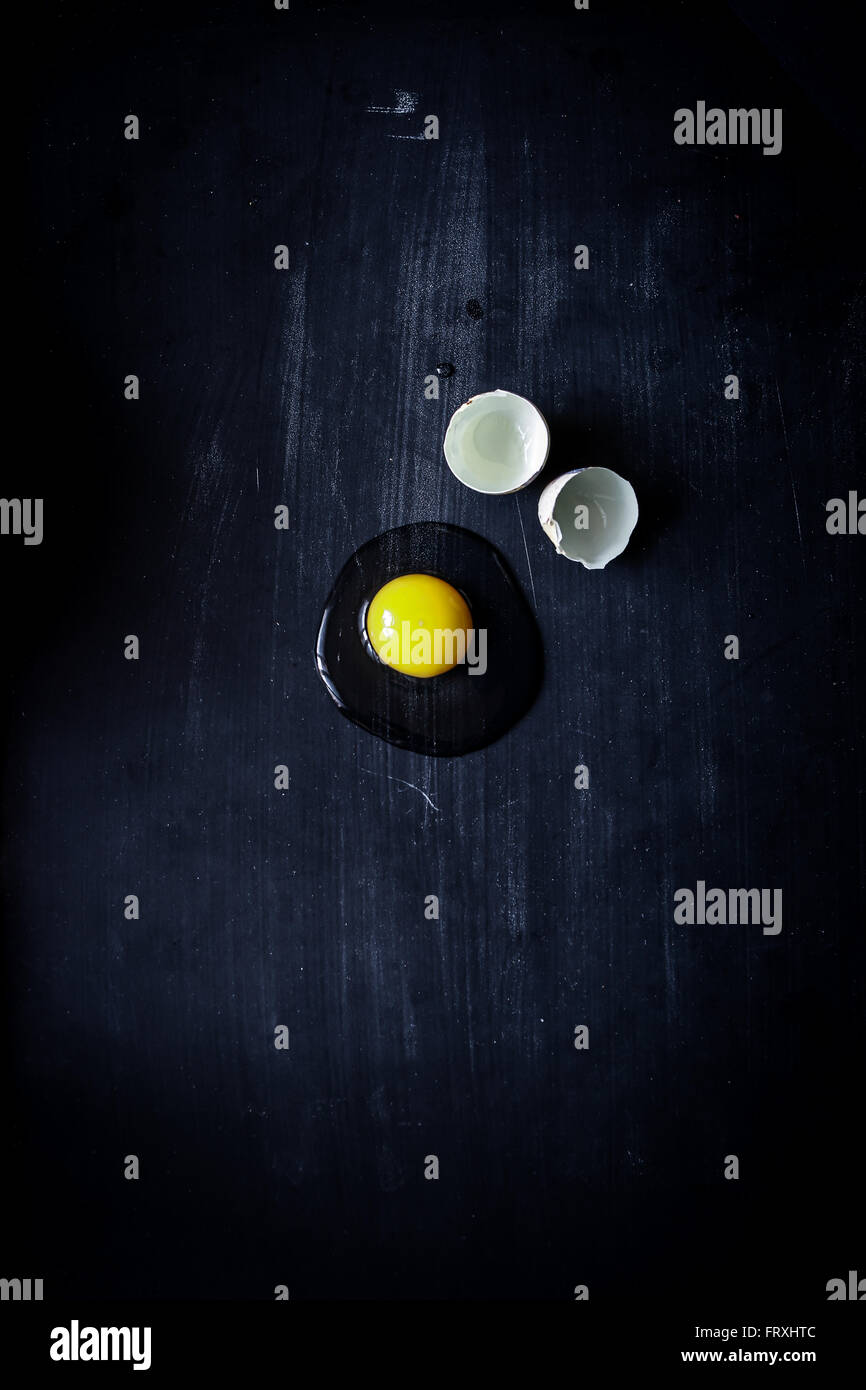 Quail egg - Stock Image