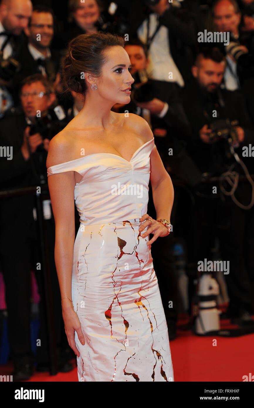 May  16th, 2014 - Cannes  Celebrities attend the Cannes Film Festival. - Stock Image