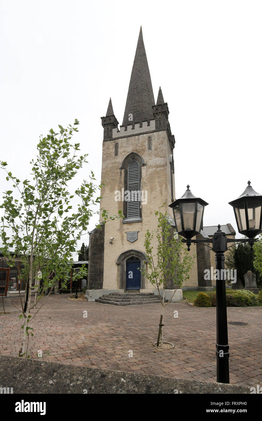 St George's Heritage and Visitors Centre in Carrick on Shannon, County Leitrim, Ireland. - Stock Image