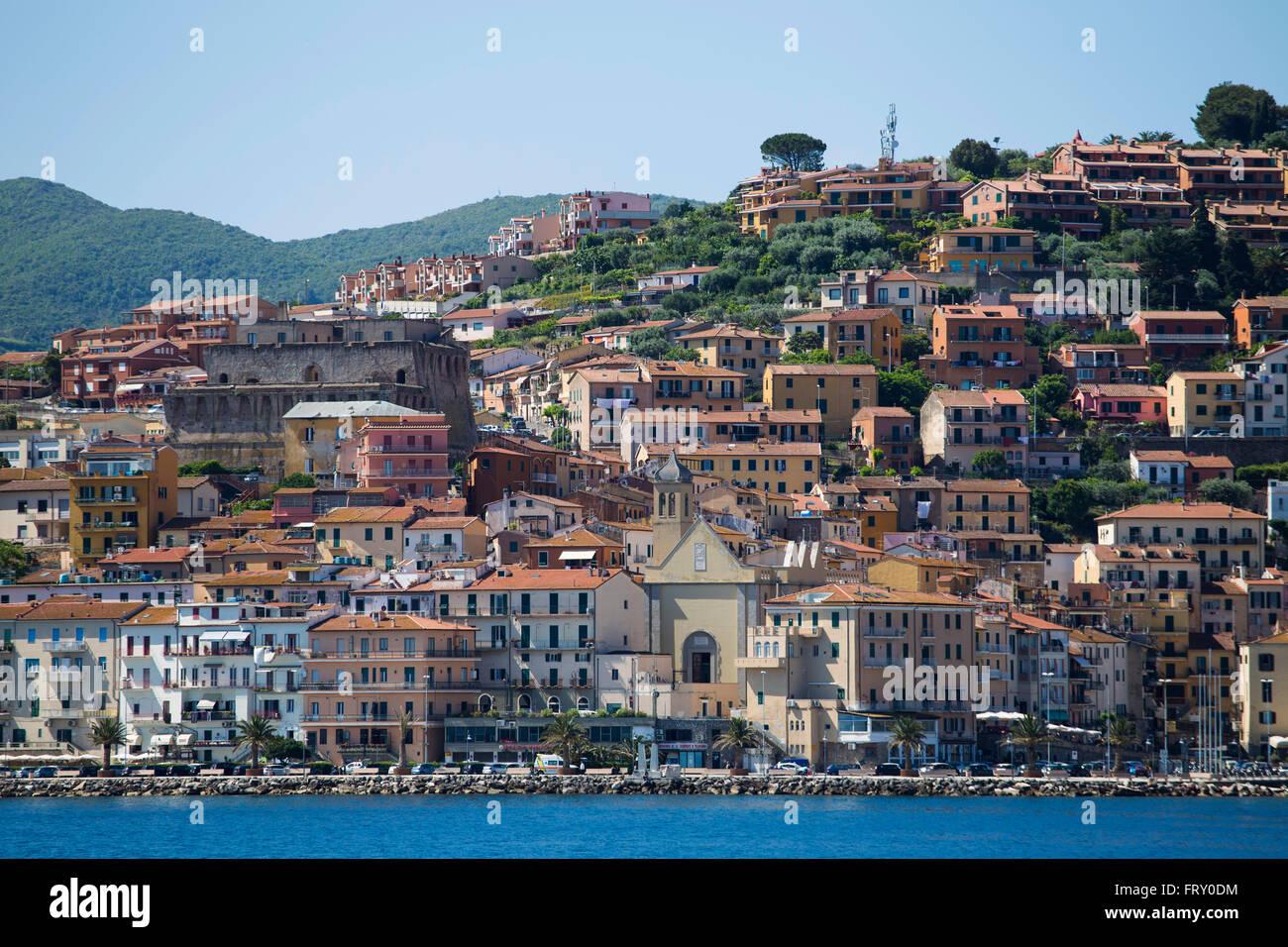 Porto Santo Stefano, Tuscany, Italy - Stock Image