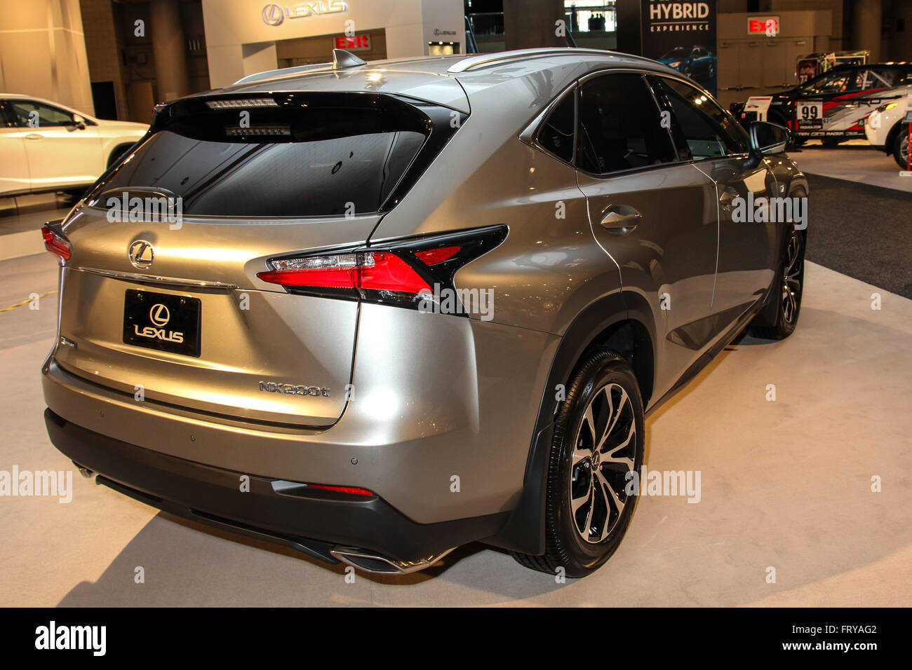 manhattan new york usa 23rd mar 2016 a lexus nx 200t shown at stock photo alamy alamy