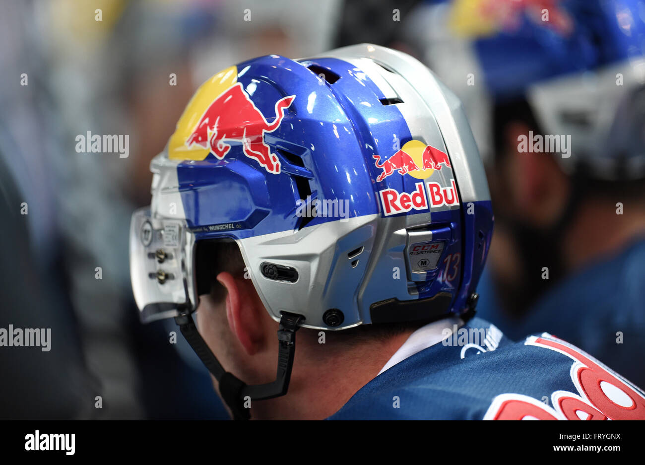 a muenchen player wears the logo of sponsor red bull on. Black Bedroom Furniture Sets. Home Design Ideas