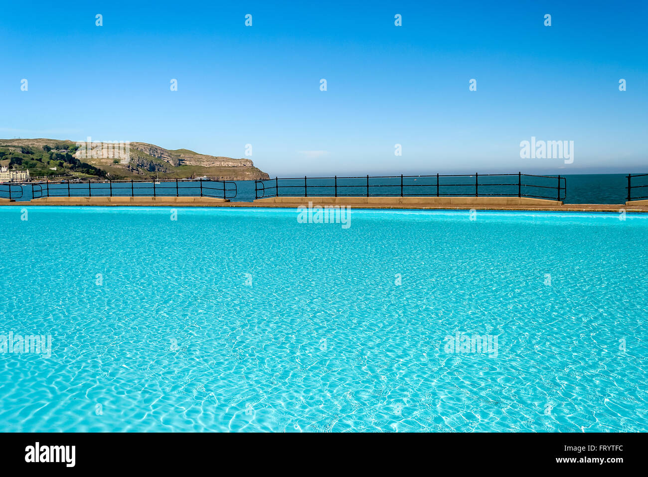 Llandudno Outdoor Swimming Pool Stock Photos Llandudno Outdoor Swimming Pool Stock Images Alamy