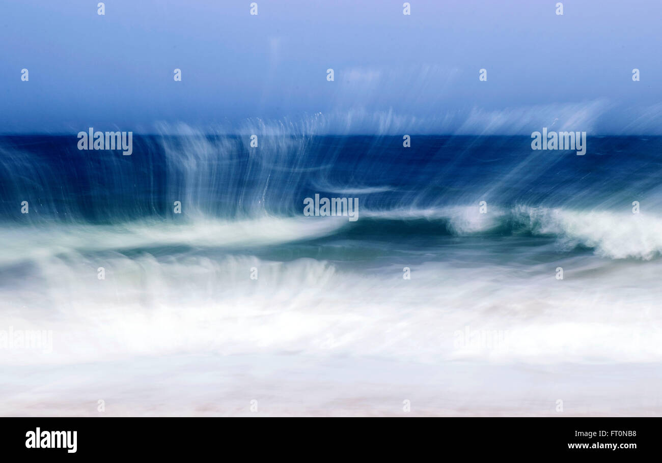 Waves out of control. - Stock Image