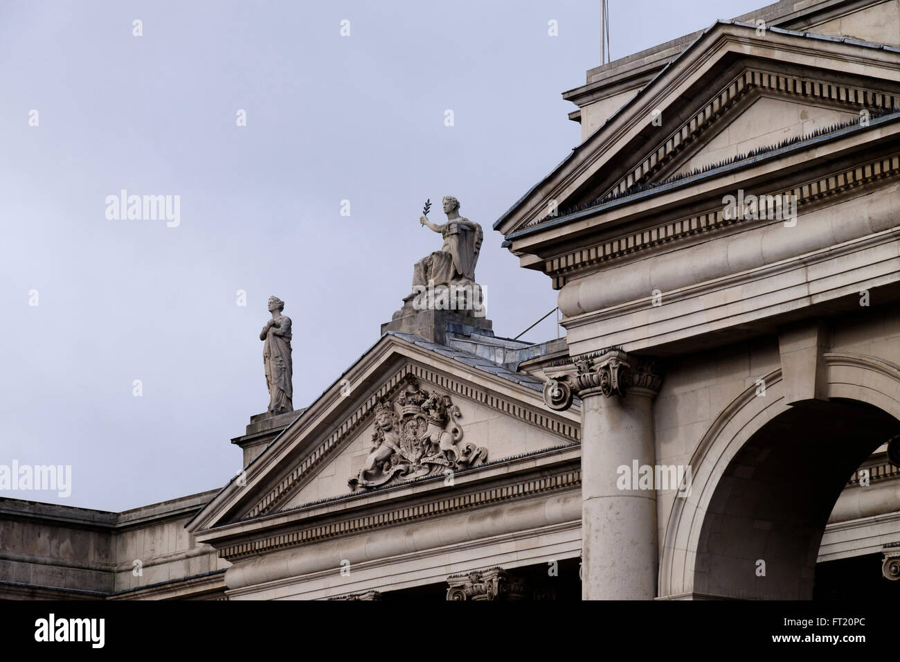 Headquarters of the Bank of Ireland, former Irish Houses of Parliament, Dublin, Republic of Ireland, Europe Stock Photo