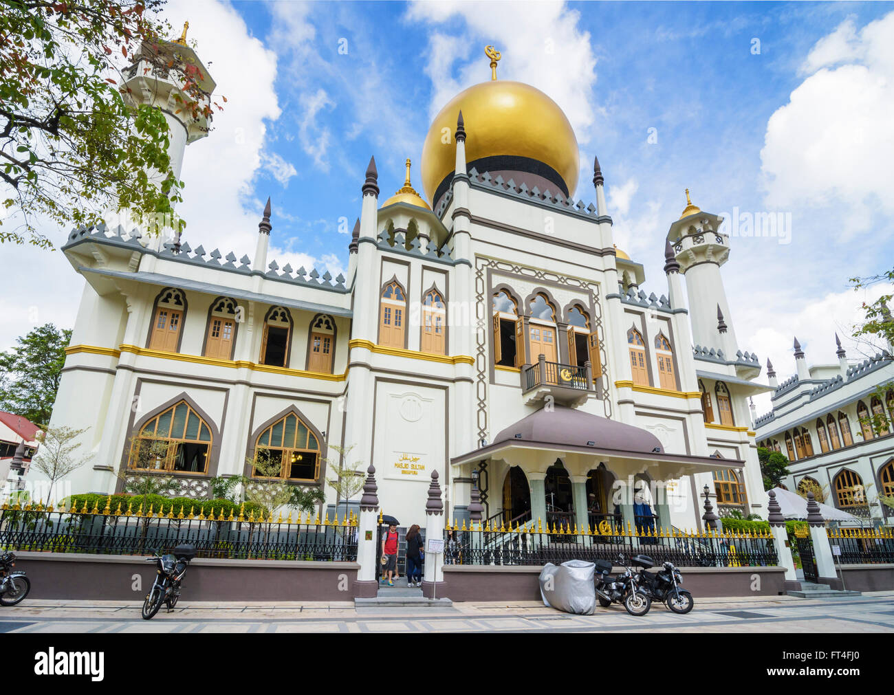Masjid Sultan, Kampong Glam, Singapore - Stock Image