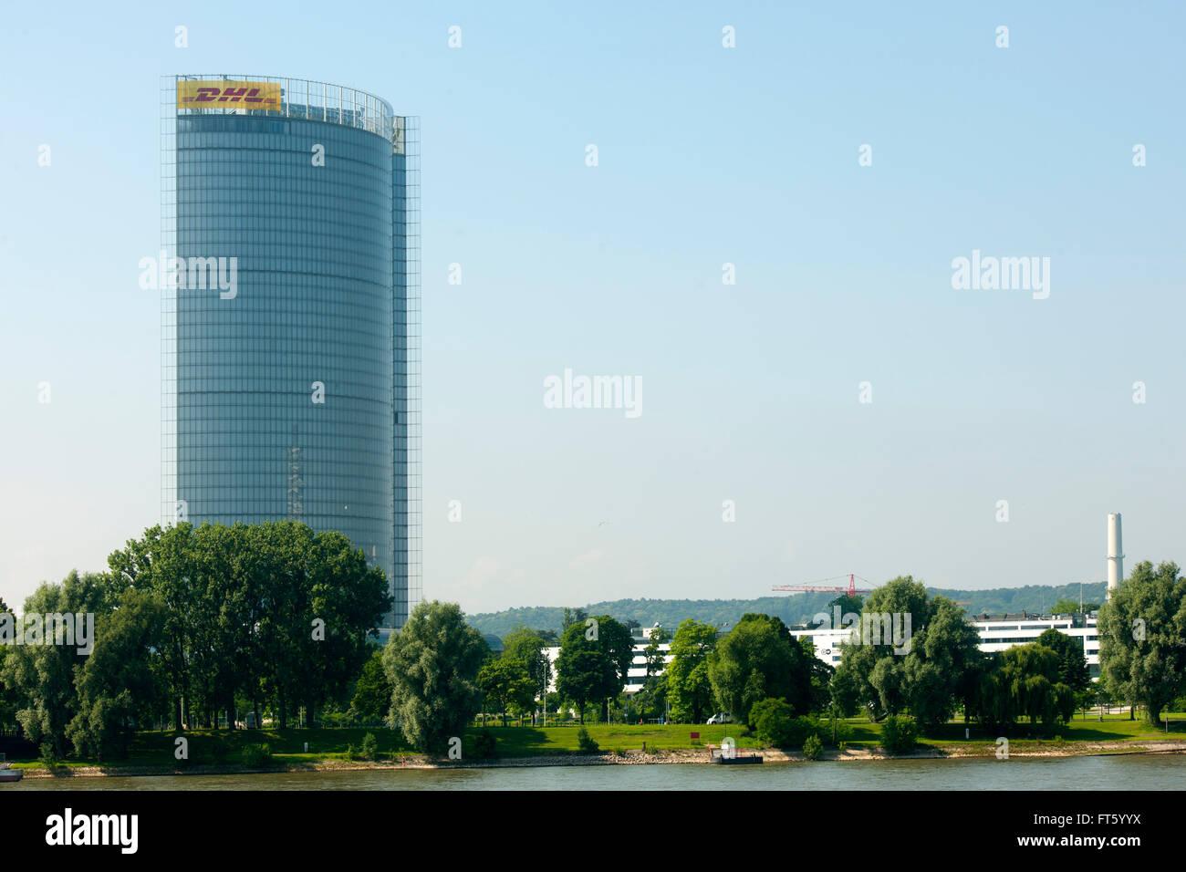 Deutschland, Nordrhein-Westfalen, Bonn, Post Tower - Stock Image