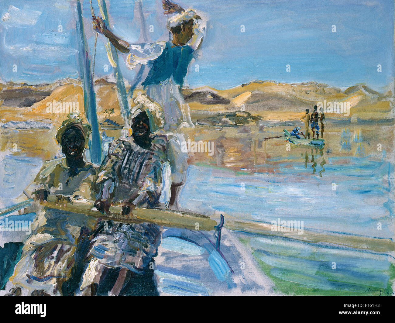 Max Slevogt - Pirates - Galerie Neue Meister – New Masters Gallery - Stock Image