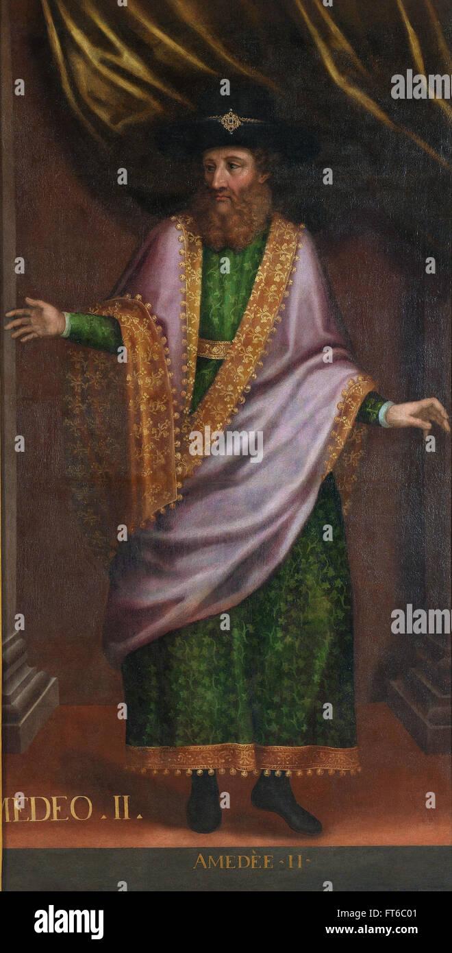 Portrait of Vittorio Amedeo II - La Venaria Reale - Stock Image