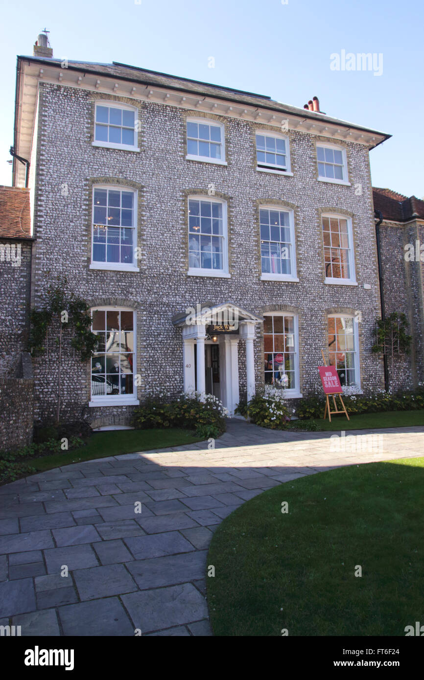 Jack Wills clothes store North Street Chichester West Sussex - Stock Image