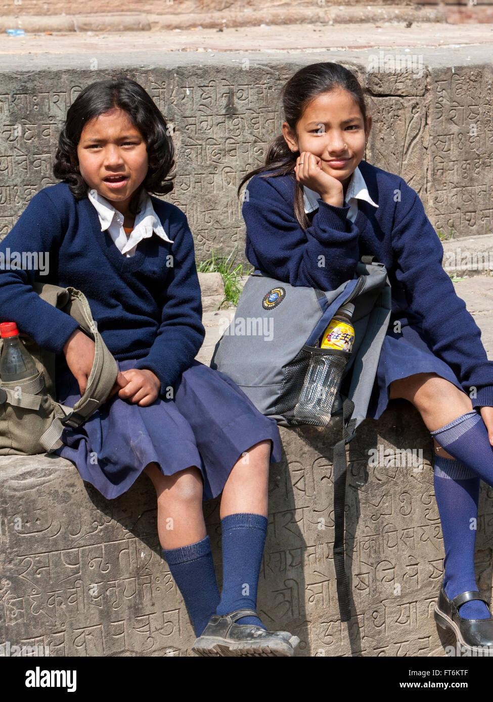 0fa0d719dcc Nepalese Uniform Stock Photos & Nepalese Uniform Stock Images - Alamy