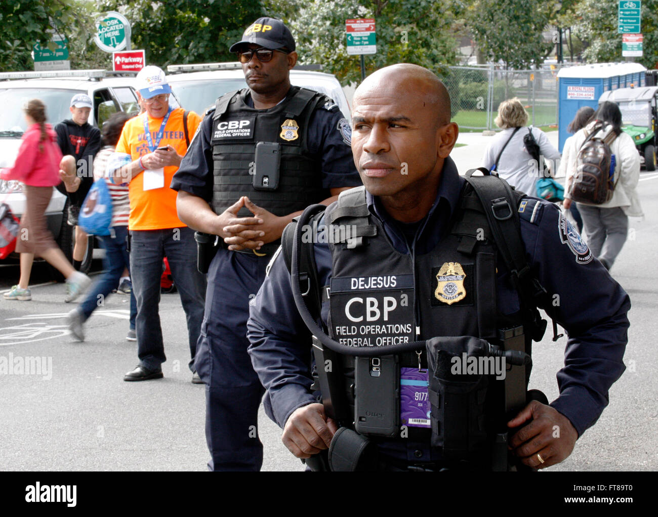 U S  Customs and Border Protection (CBP) Officer Julio