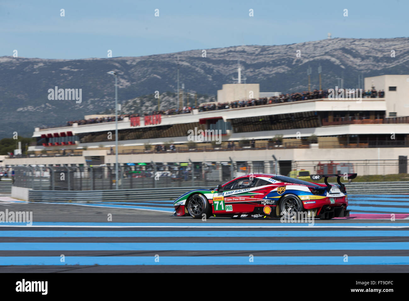 Le Castellet Circuit : Circuit paul ricard le castellet france. 26th mar 2016. world