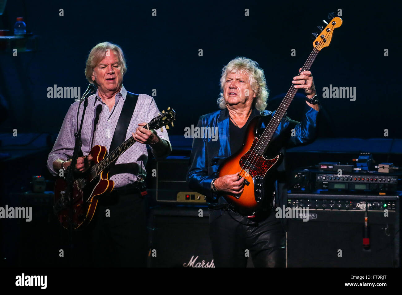 The Moody Blues Band Stock Photos & The Moody Blues Band Stock