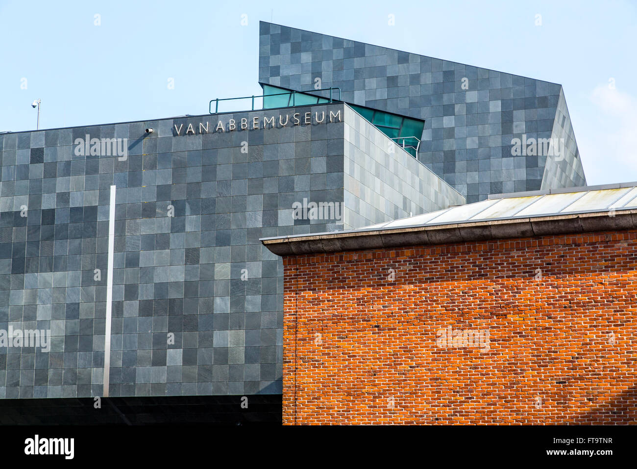 Art Museum, Van Abbemuseum, for modern and contemporary art, in Eindhoven, The Netherlands, Stock Photo