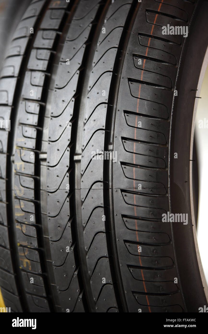 Tyre - Stock Image