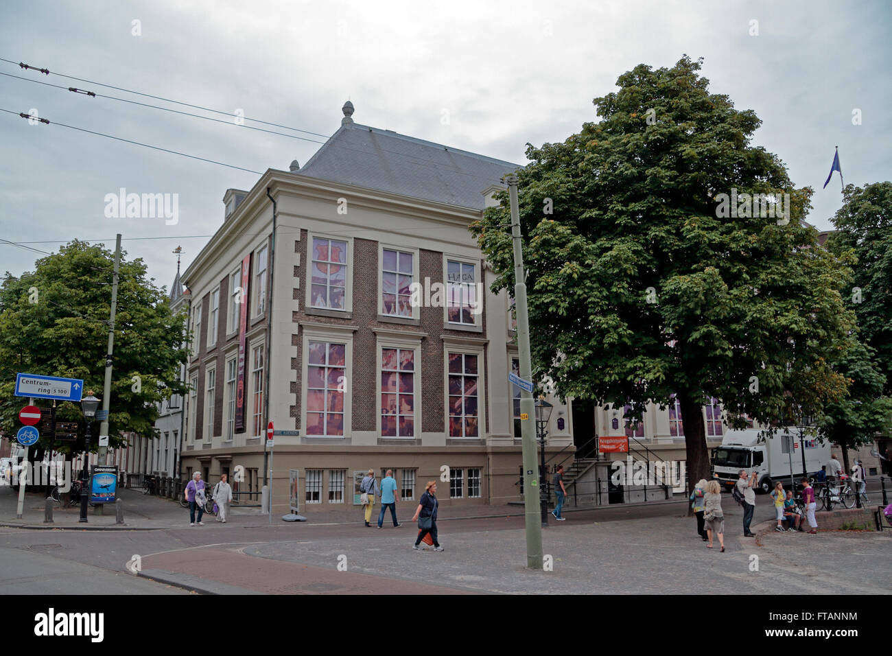 The Haags Historisch Museum (Historical Museum of The Hague) in The Hague, Netherlands. - Stock Image