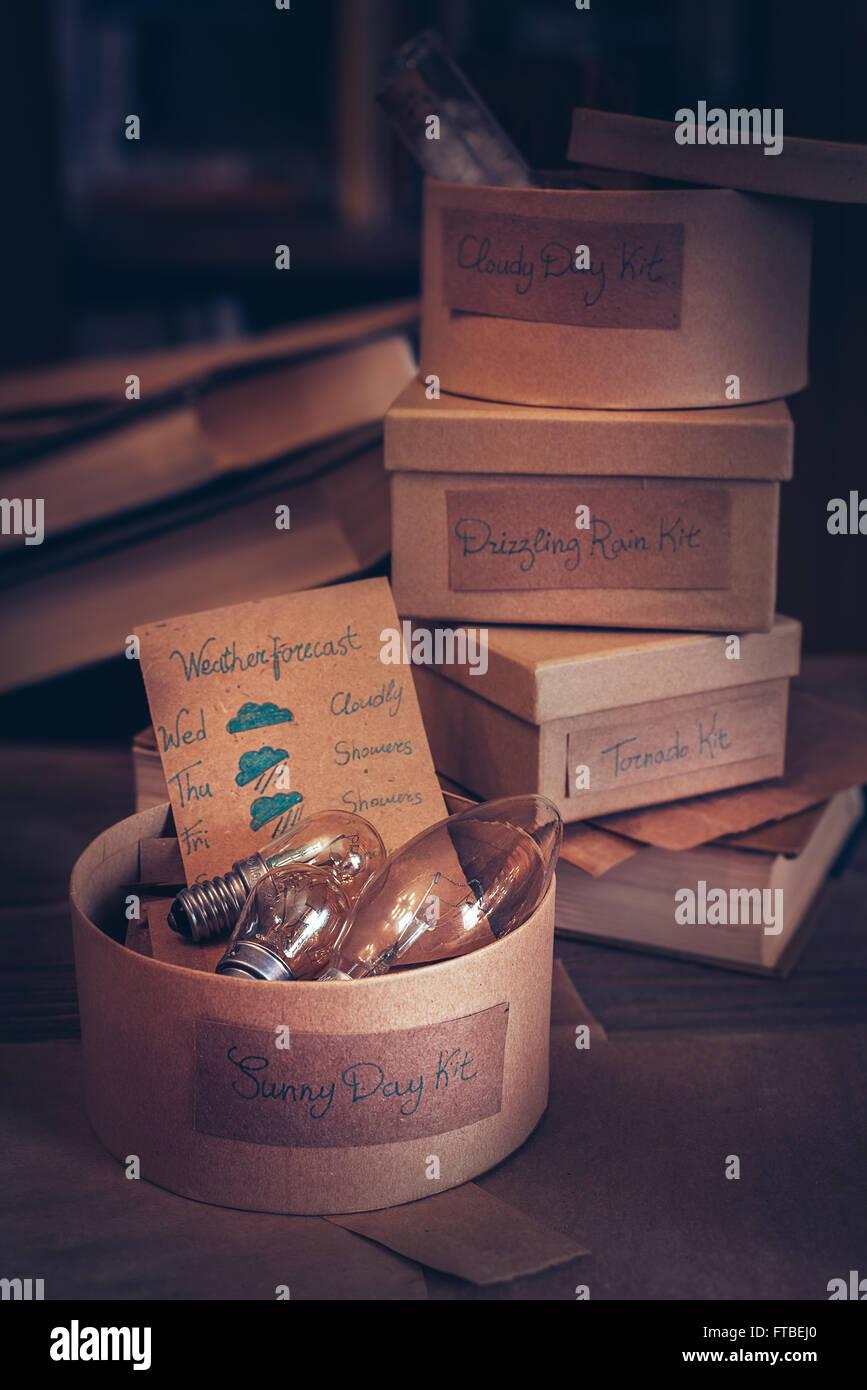 Sunny Day Kit - Stock Image