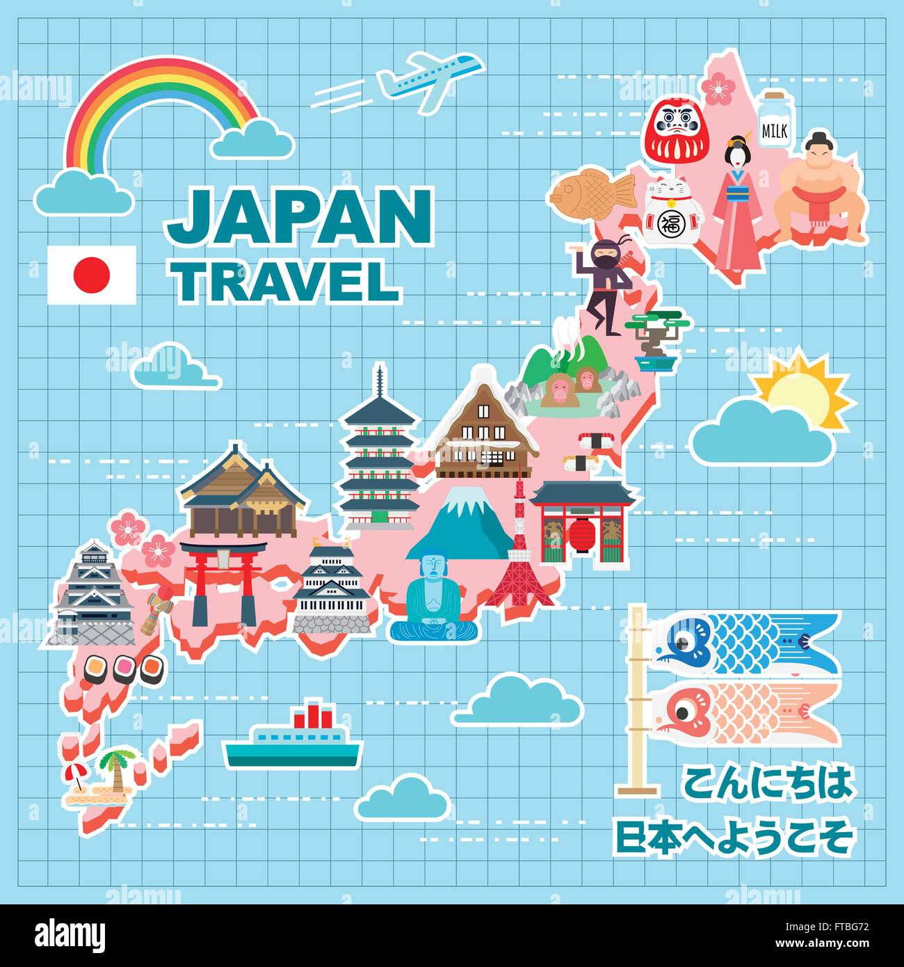 Lovely Japan Travel Map Hello And Welcome To Japan In