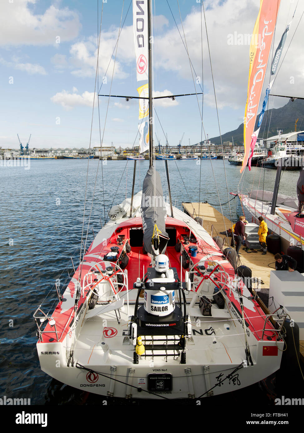 China's only sailing boat 'Volvo Ocean 65 Dongfeng' in ...