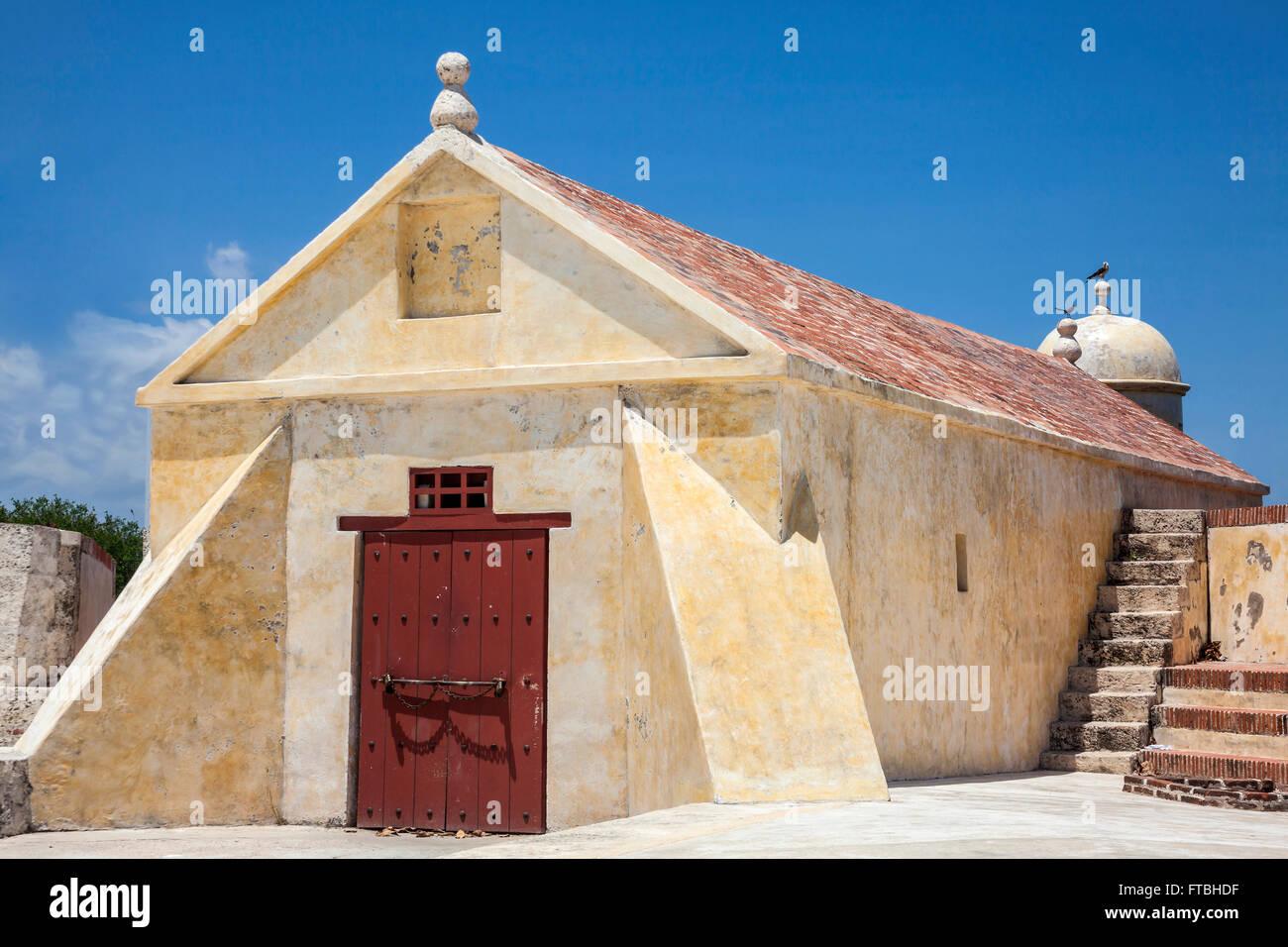 Fort of San Sebastian del Pastelillo - Stock Image