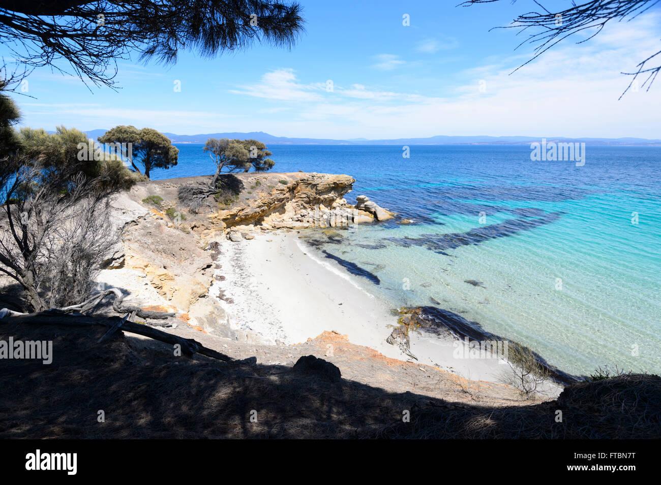 Maria Island National Park, Tasmania, Australia Stock Photo