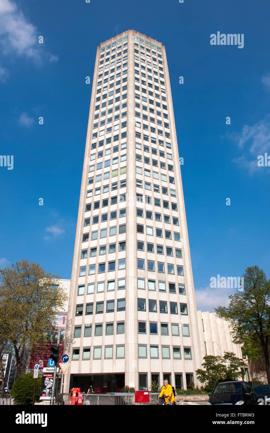 Deutschland, Köln, Neustadt Nord, Ebertplatz, Ringturm - Stock Image