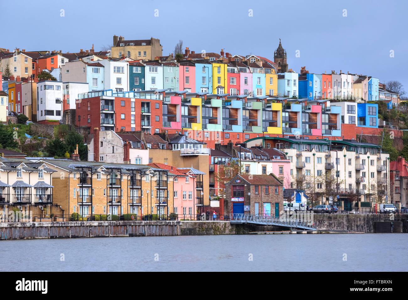 Bristol, Clifton Wood, River Avon, South West, England, UK - Stock Image