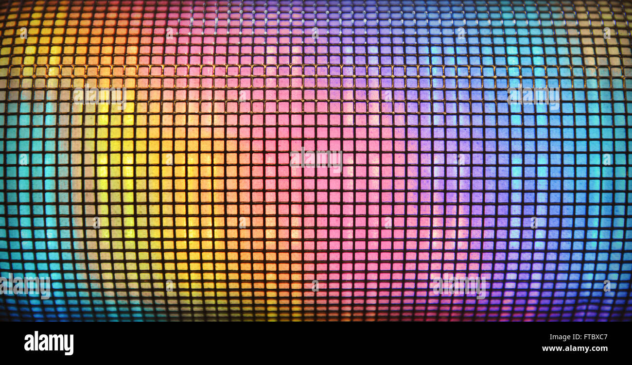 Abstract disco background - Stock Image