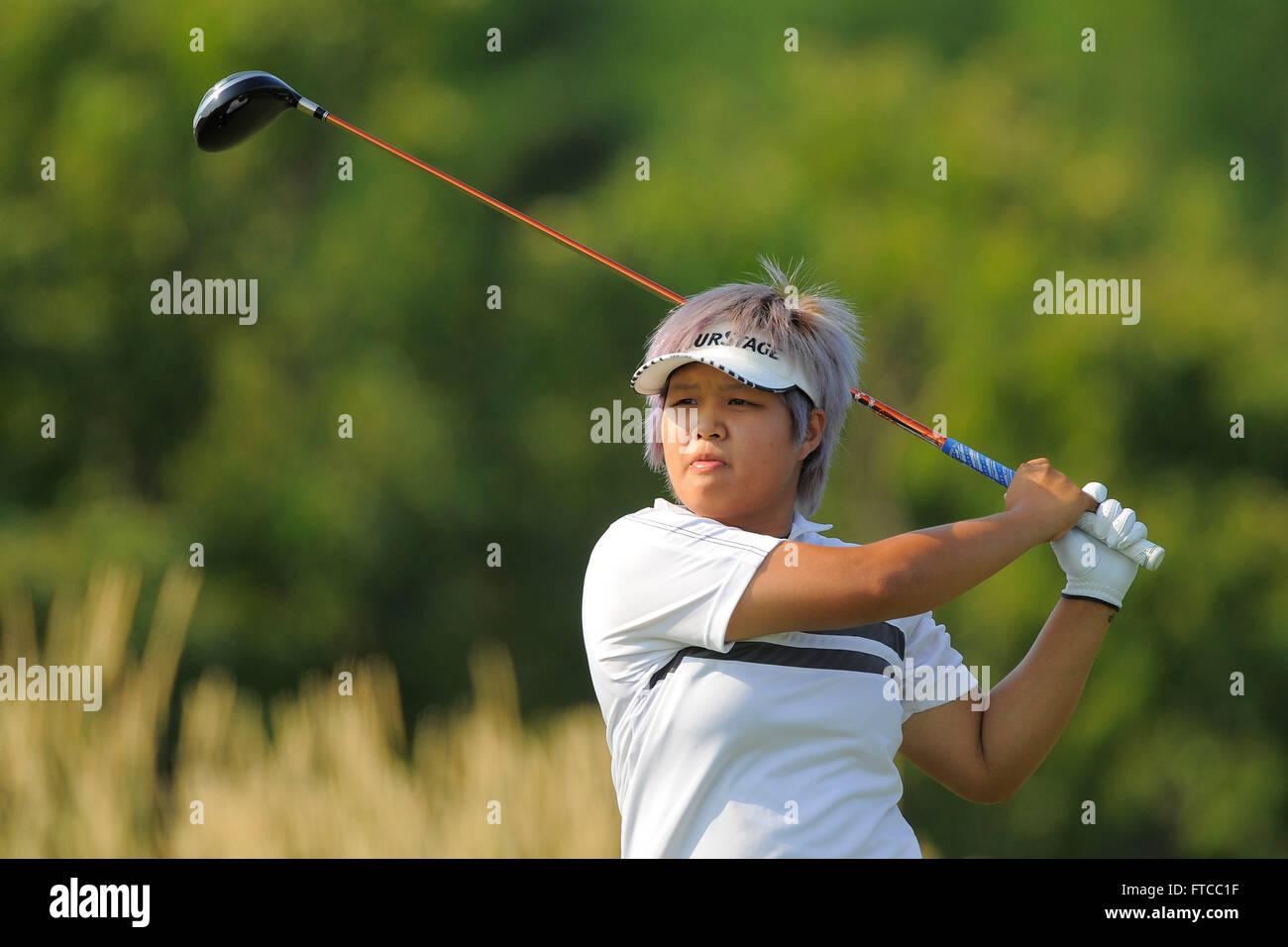 Kohler, Wis, USA. 5th July, 2012. Naru Nomura during the first round ...