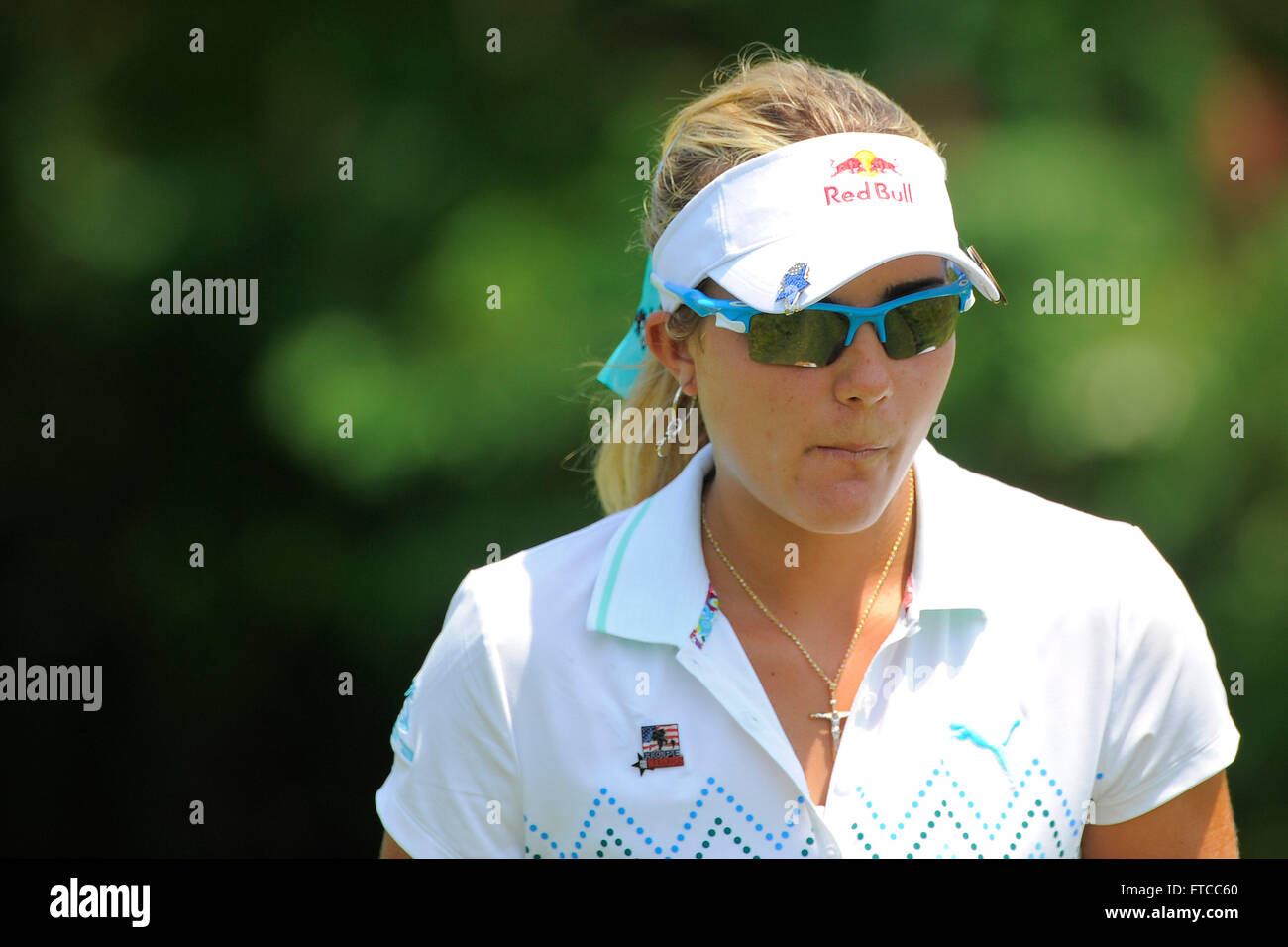 Kohler, Wis, USA. 5th July, 2012. Lexi Thompson during the first ...