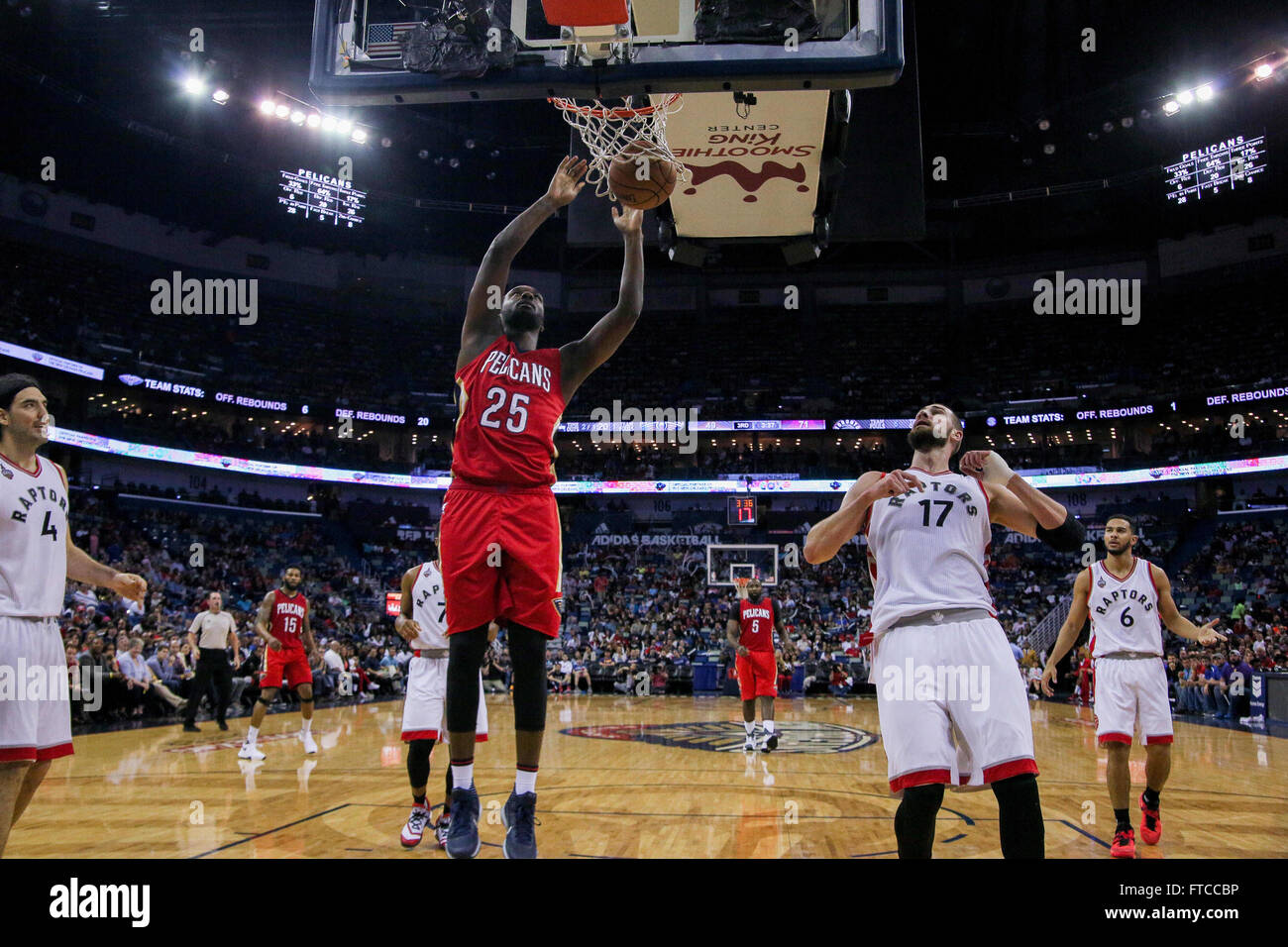 New Orleans La Usa 26th Mar 2016 New Orleans Pelicans