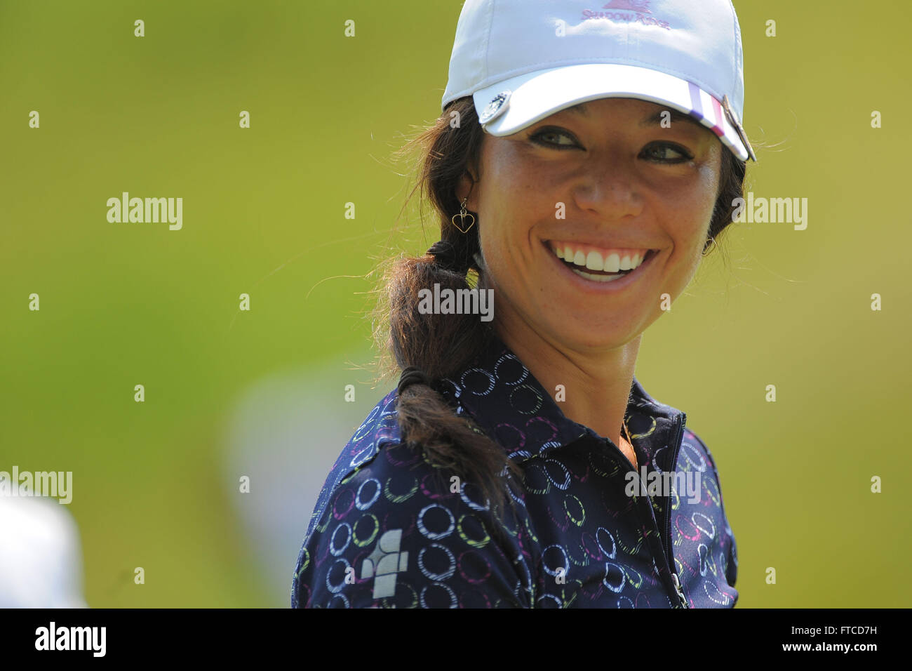 Kohler, Wis, USA. 4th July, 2012. Kelly Jacques during a practice ...