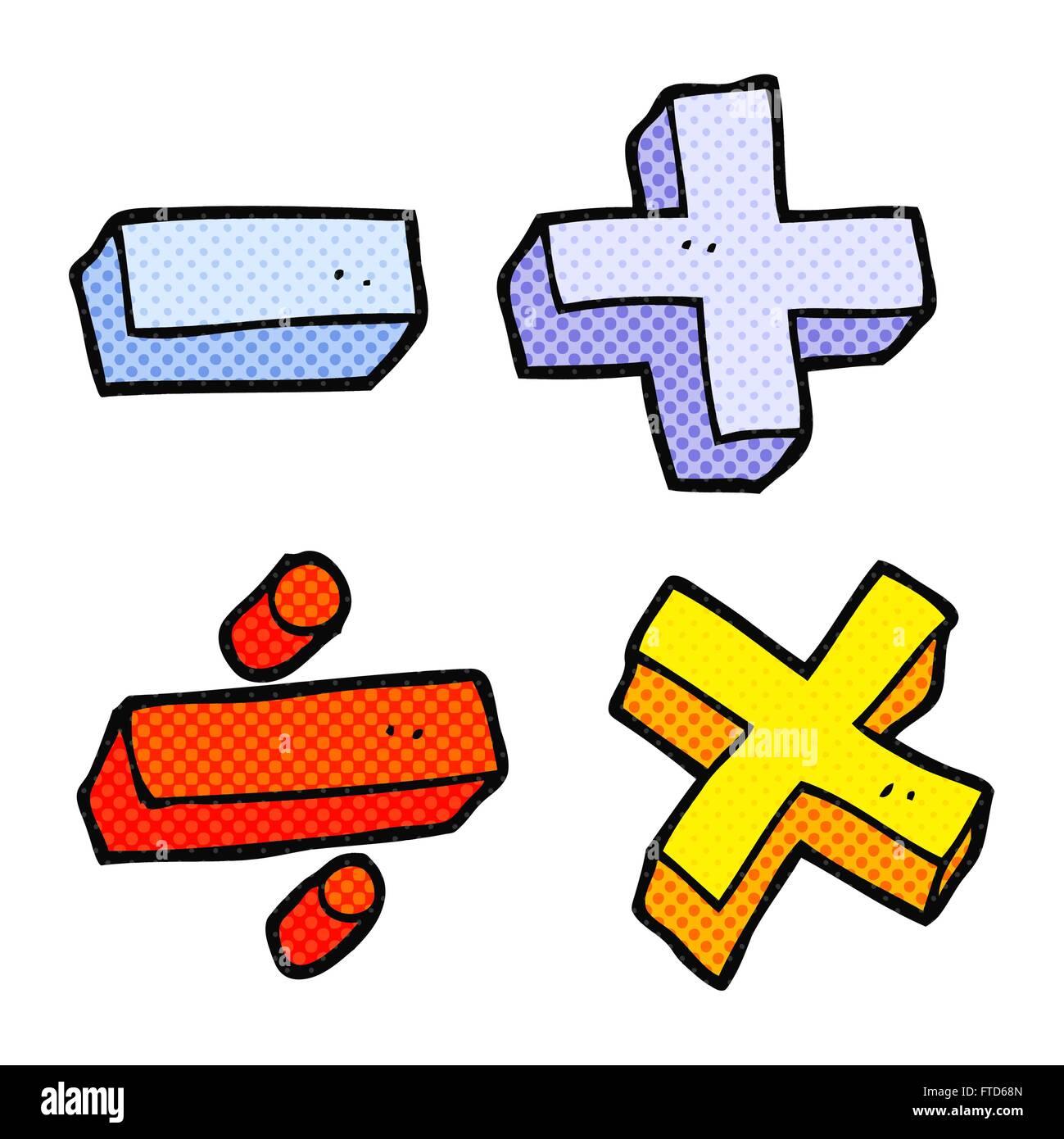 Freehand drawn cartoon math symbols stock vector art illustration freehand drawn cartoon math symbols publicscrutiny Choice Image