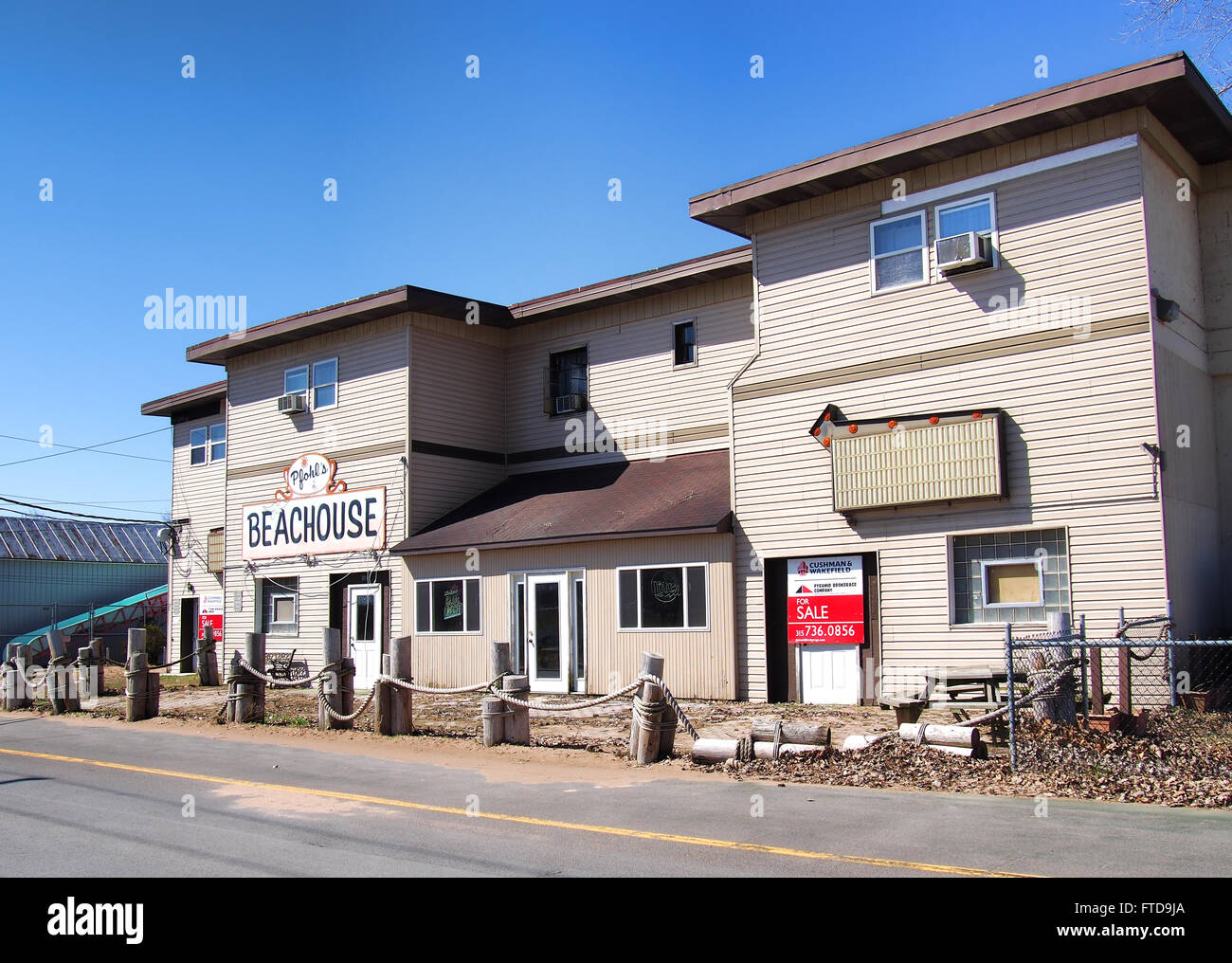 Bar for sale - Stock Image