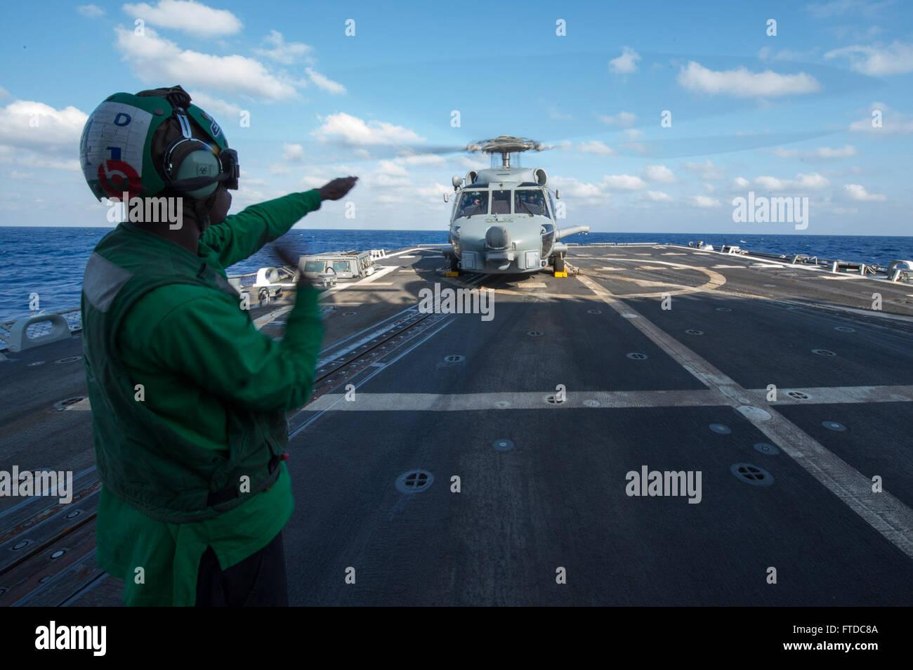 130917-N-NU634-049 MEDITERRANEAN SEA (Sept. 17, 2013) Aviation Electronics Technician 3rd Class Marqueze Coleman, Stock Photo