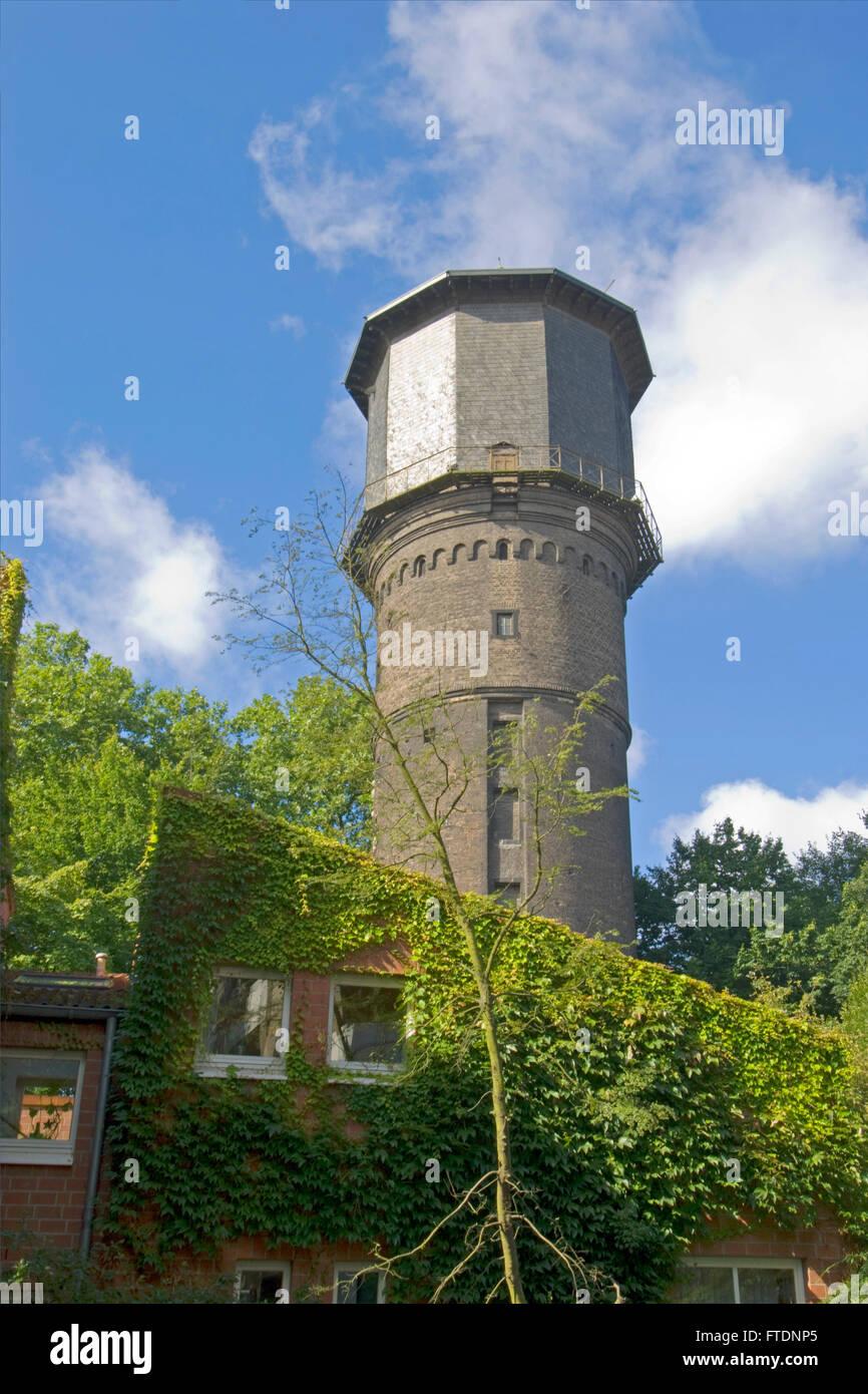 Deutschland, NRW, Neuss, Windmühlenturm - Stock Image