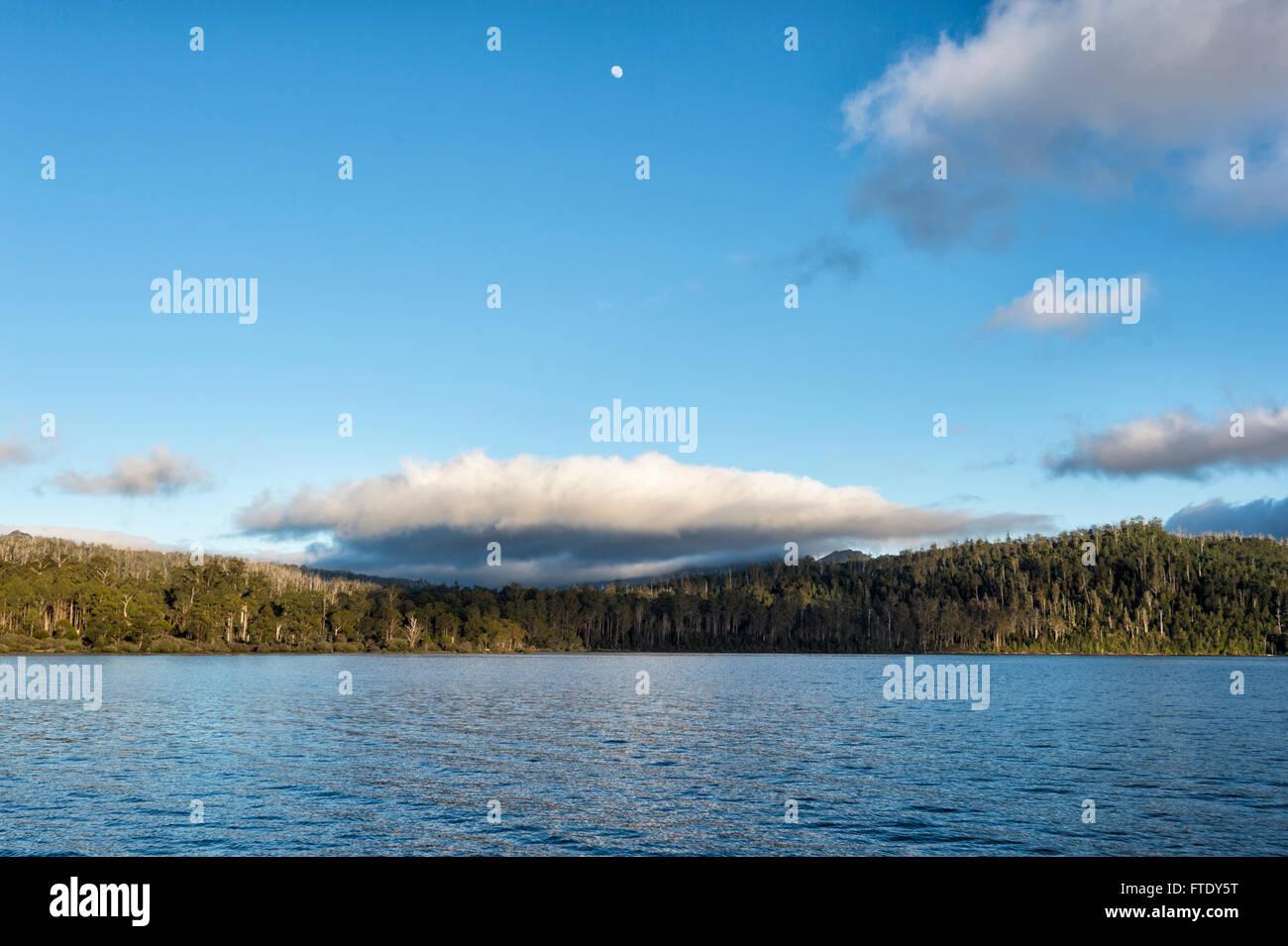 Lake St Clair, Cradle Mountain-Lake St Clair National Park, Tasmania, TAS, Australia - Stock Image