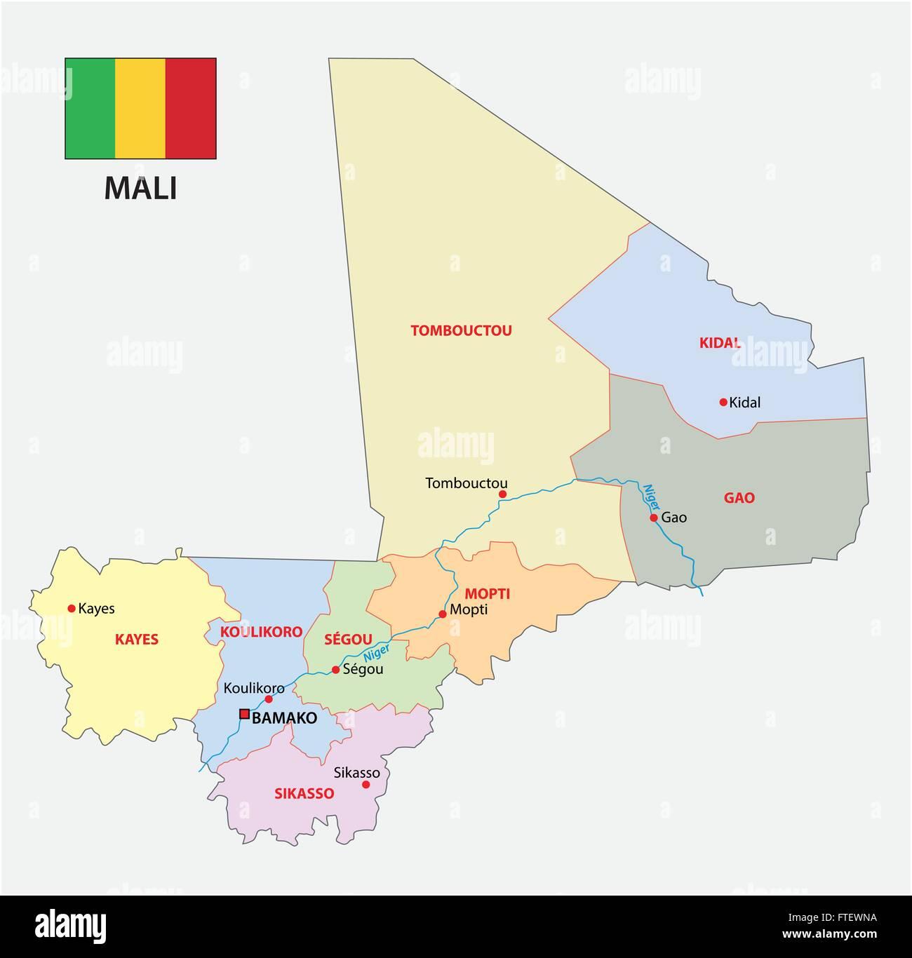 Mali Map Stock Photos Mali Map Stock Images Alamy