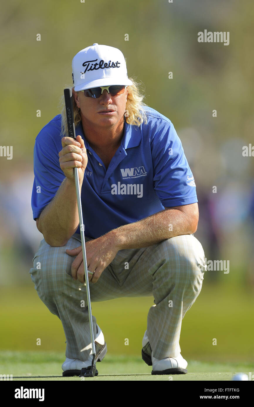 March 23, 2012 - Orlando, Fla, USA - Charley Hoffman during the second round of the Arnold Palmer Invitational at the Bay Hill Club and Lodge on March 23, ...