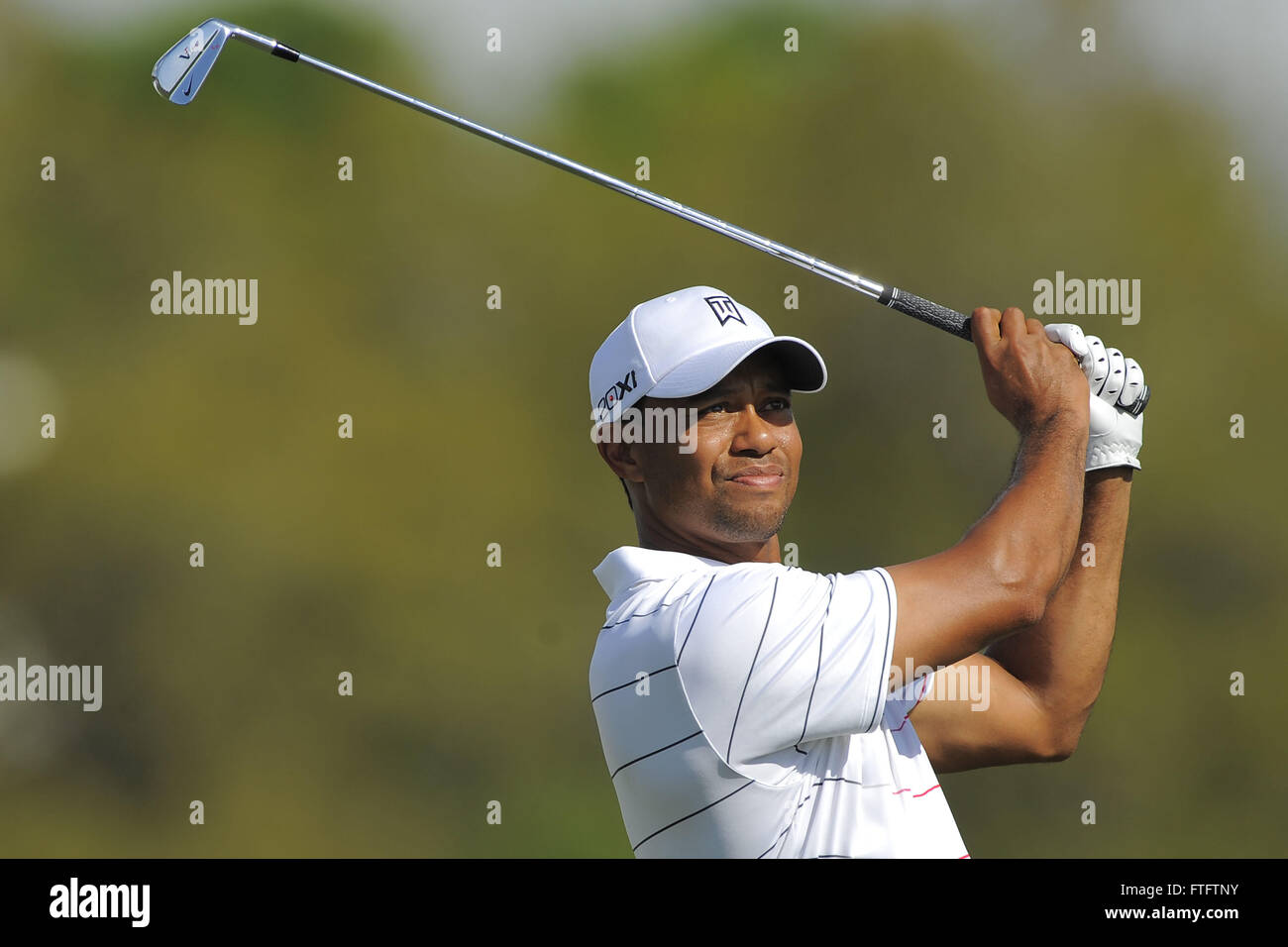 March 23, 2012 - Orlando, Fla, USA - Tiger Woods during the second round of the Arnold Palmer Invitational at the Bay Hill Club and Lodge on March 23, ...