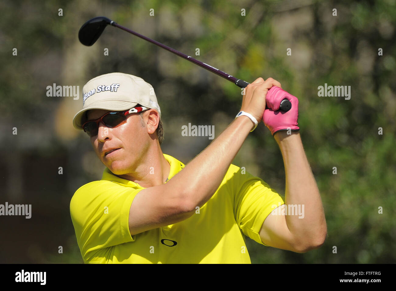 March 23, 2012 - Orlando, Fla, USA - Ricky Barnes during the second round of the Arnold Palmer Invitational at the Bay Hill Club and Lodge on March 23, ...