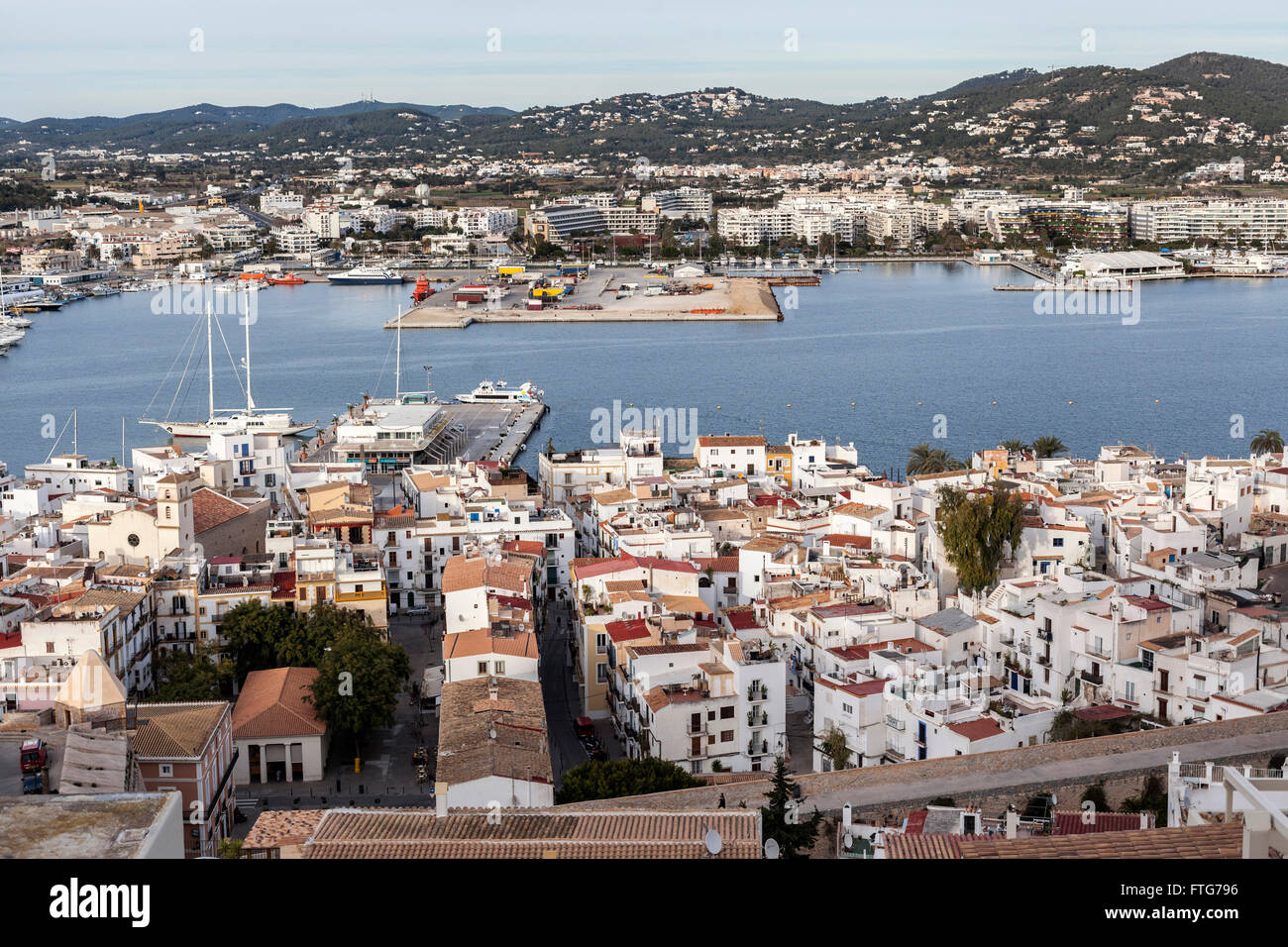 Ibiza-Eivissa,Balearic Islands,Spain. - Stock Image