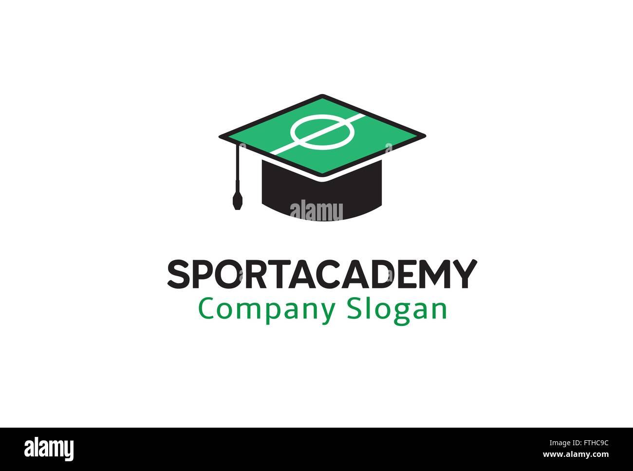 Sport Academy Design Illustration - Stock Vector